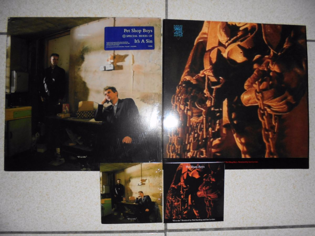"US 12"" Single、German 12"" Single,以及2種不同版本的UK CD Single。"