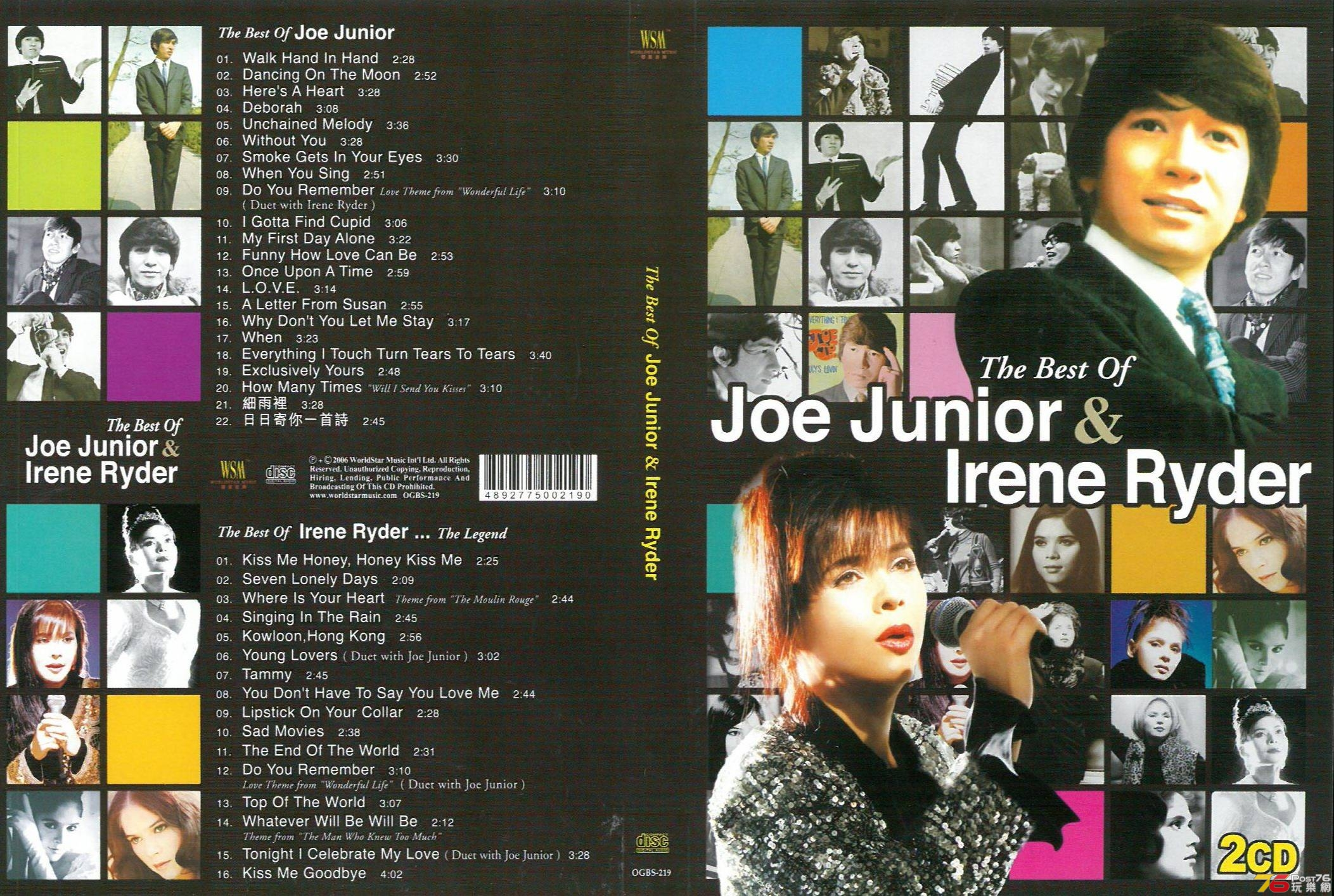 Joe Junior & Irene Ryder the Best Of a.jpg