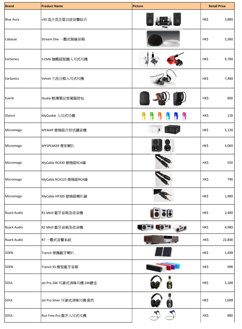 1. Christmas event Price List-page-001