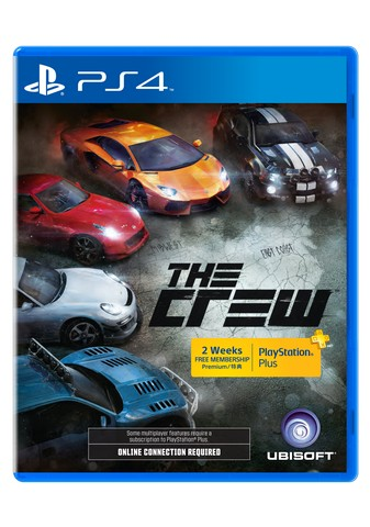 the crew ps4 ps+ day1-2d