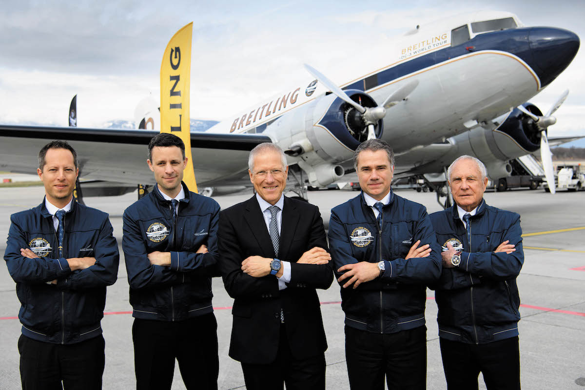 Breitling DC-3 World Tour Press Conference Geneva – March 9th 2017
