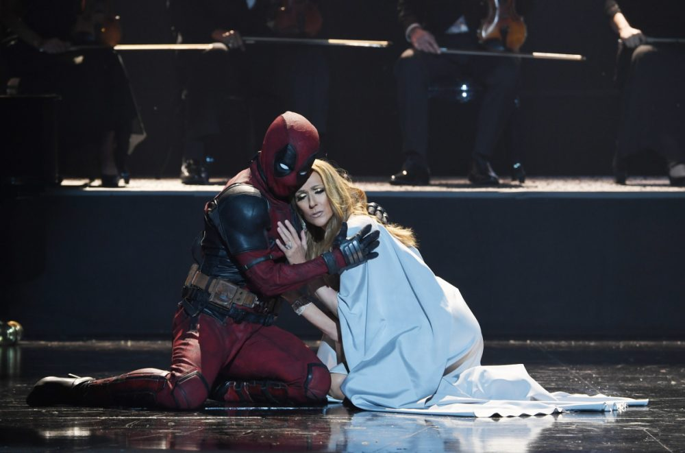 Celine Dion Dead Pool video April 12 2018 Photos By Denise Truscello