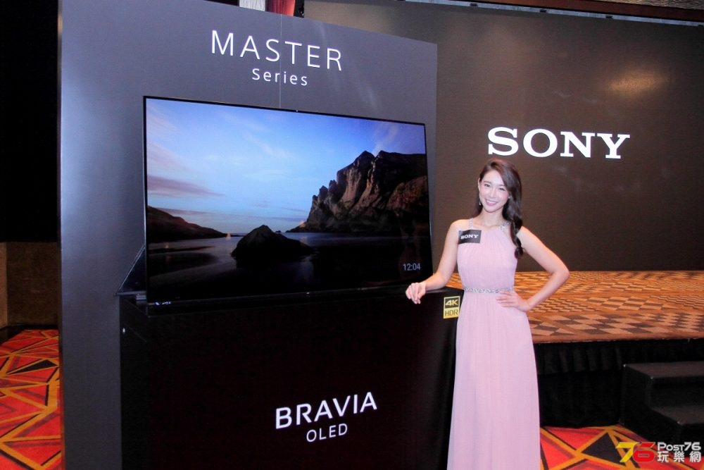Sony A9F OLED + Z9F LED「MASTER Series」4K HDR 電視系列速試