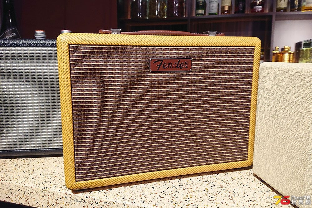 Fender Monterey Tweed、Indio 型到爆的藍牙喇叭